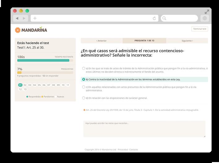 Tests para oposiciones Fuerteventura
